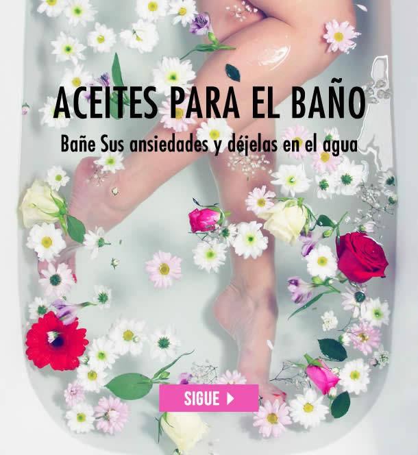 ACEITES PARA EL BAÑO